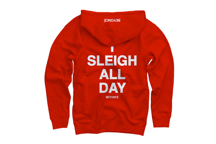Beyoncé Made Another Ugly Christmas Sweater for You to 'Sleigh All ...