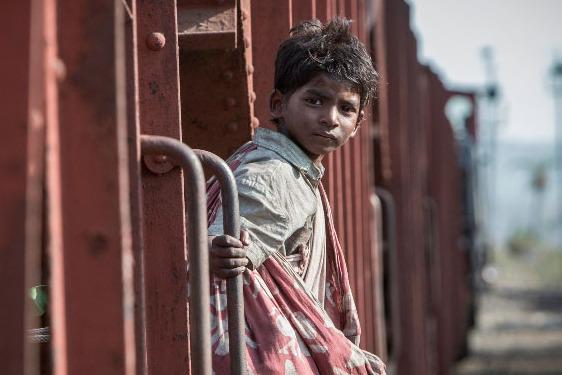 Sunny Pawar stars in LIONPhoto: Mark Rogers