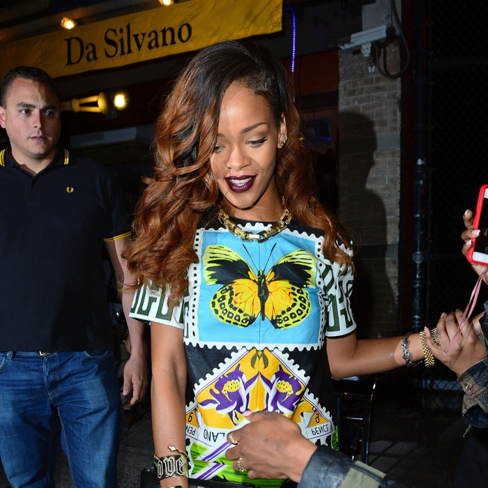 Celebrity Sightings In New York City - April 30, 2013