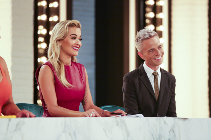 Rita Ora, Drew Elliott.