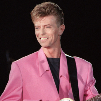 British singer David Bowie performs on s