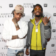 "Migos attend ""Hidden Figures"" Soundtrack Listening Party hosted by DJ Drama with Janelle Monae & Pharrell Williams at Means Street Studios  on November 16, 2016 in Atlanta, Georgia."