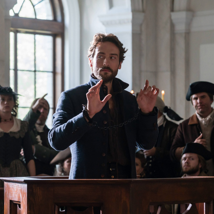 SLEEPY HOLLOW: Tom Mison in the