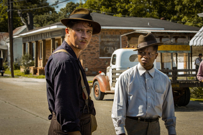 Garrett Hedlund and Jason Mitchell appear in <i>Mudbound</i> by Dee Rees, an official selection of the Premieres program at the 2017 Sundance Film Festival. Courtesy of Sundance Institute |photo by Steve Dietl.
