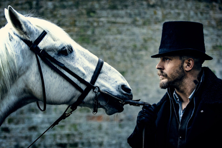 "TABOO -- ""Episode 4"" (Airs Tuesday, January 31, 10:00 pm/ep) -- Pictured: Tom Hardy as James Keziah Delaney. CR: FX"