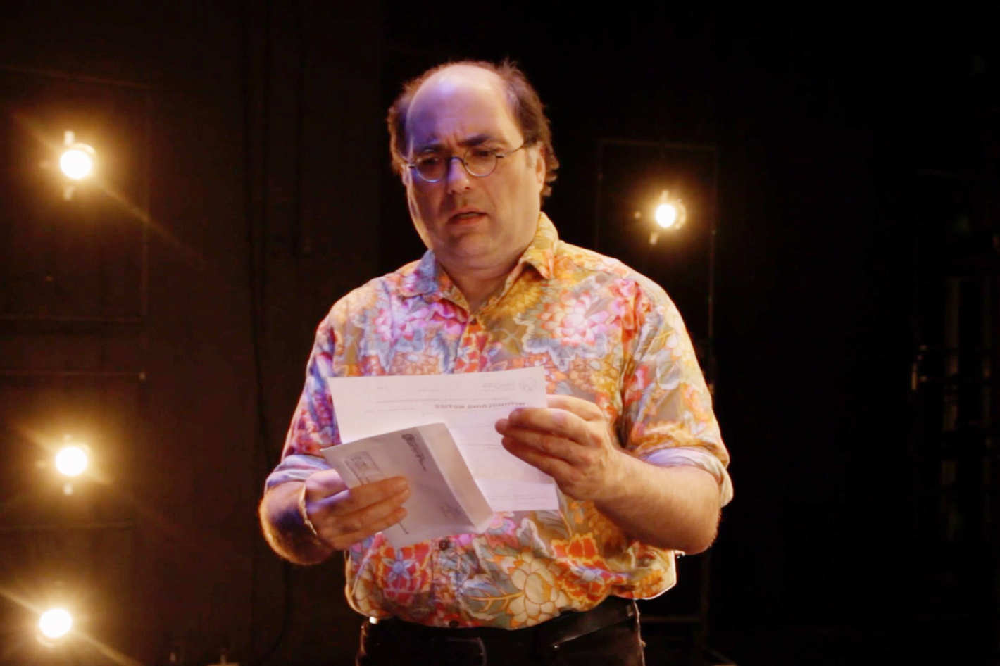 Discussing the State of Storytelling With Love & Taxes Monologuist-Star Josh Kornbluth