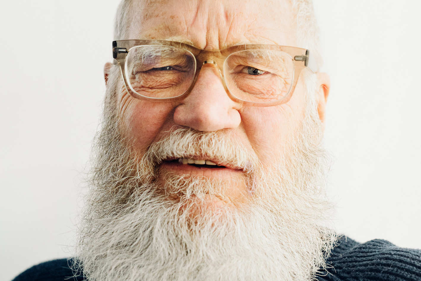david letterman on donald trump and late night tv today