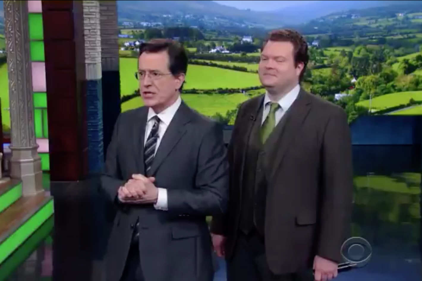 The Late Show' Wrote a Better Version of 'Danny Boy'