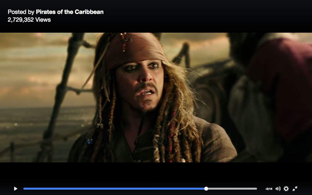 Vengeful New Trailer for 'Pirates of the Caribbean 5'
