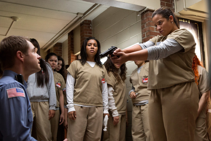 Orange Is the New Black Recap, Season 5 Episode 1: Riot FOMO