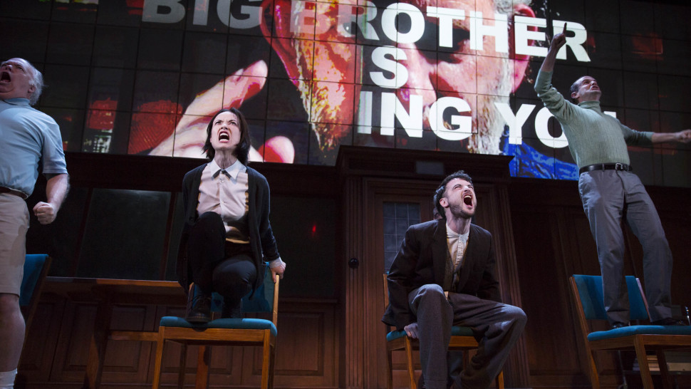 Vomiting, Fainting, and Screaming at Broadway's '1984'