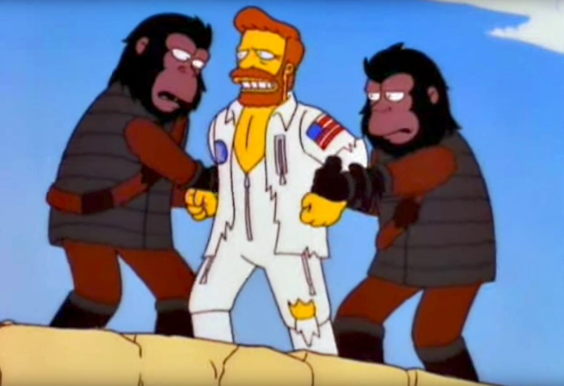 The Simpsons Planet Of The Apes Musical An Oral History