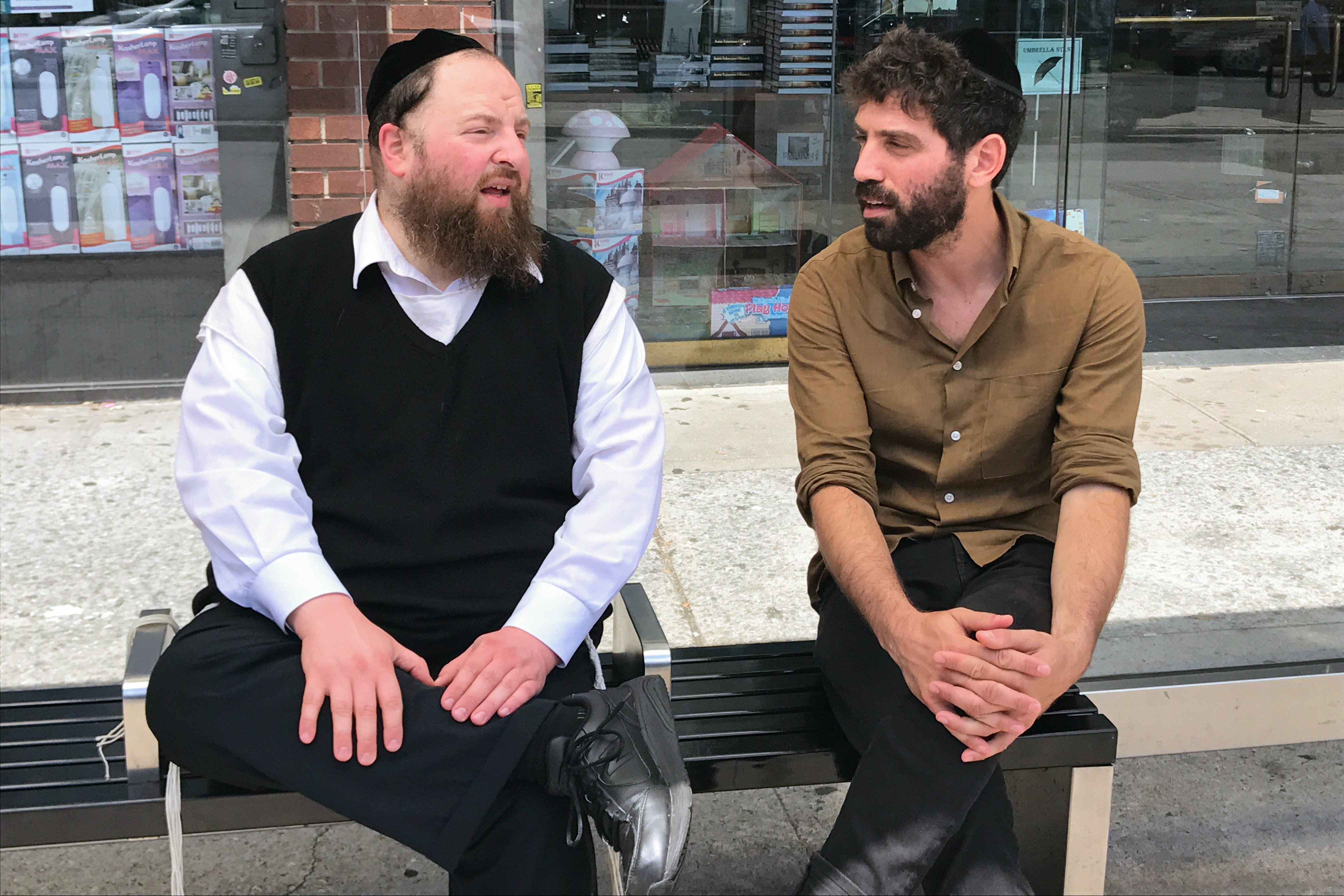 The Orthodox star of Menashe on his unorthodox rise to fame.