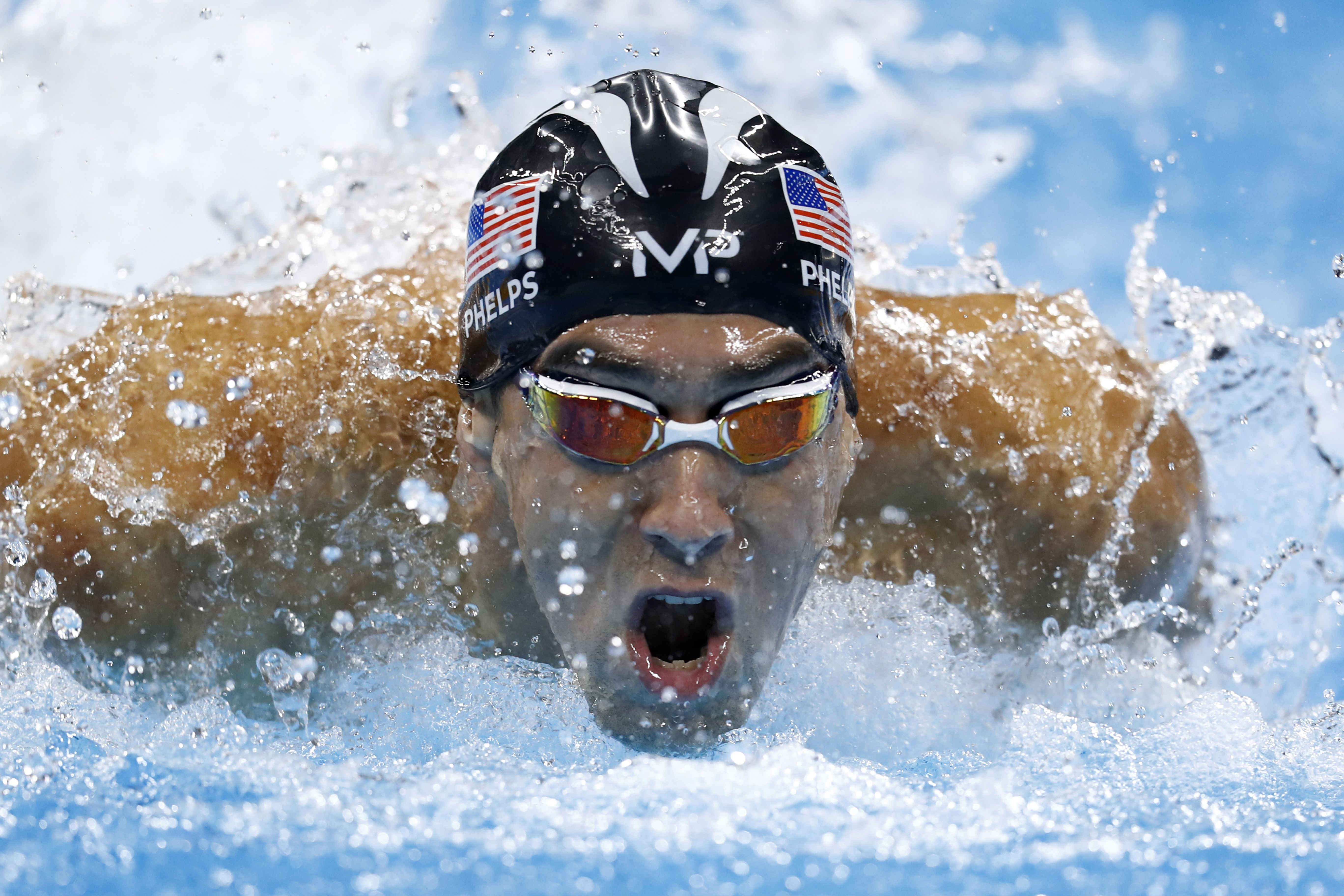 Michael Phelps Finally Raced Against a Great White Shark
