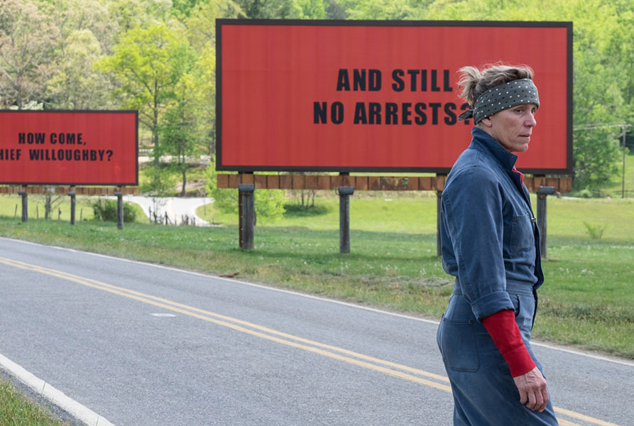 Why the Best Picture Front-runner Is <em>Three Billboards Outside Ebbing, Missouri</em>