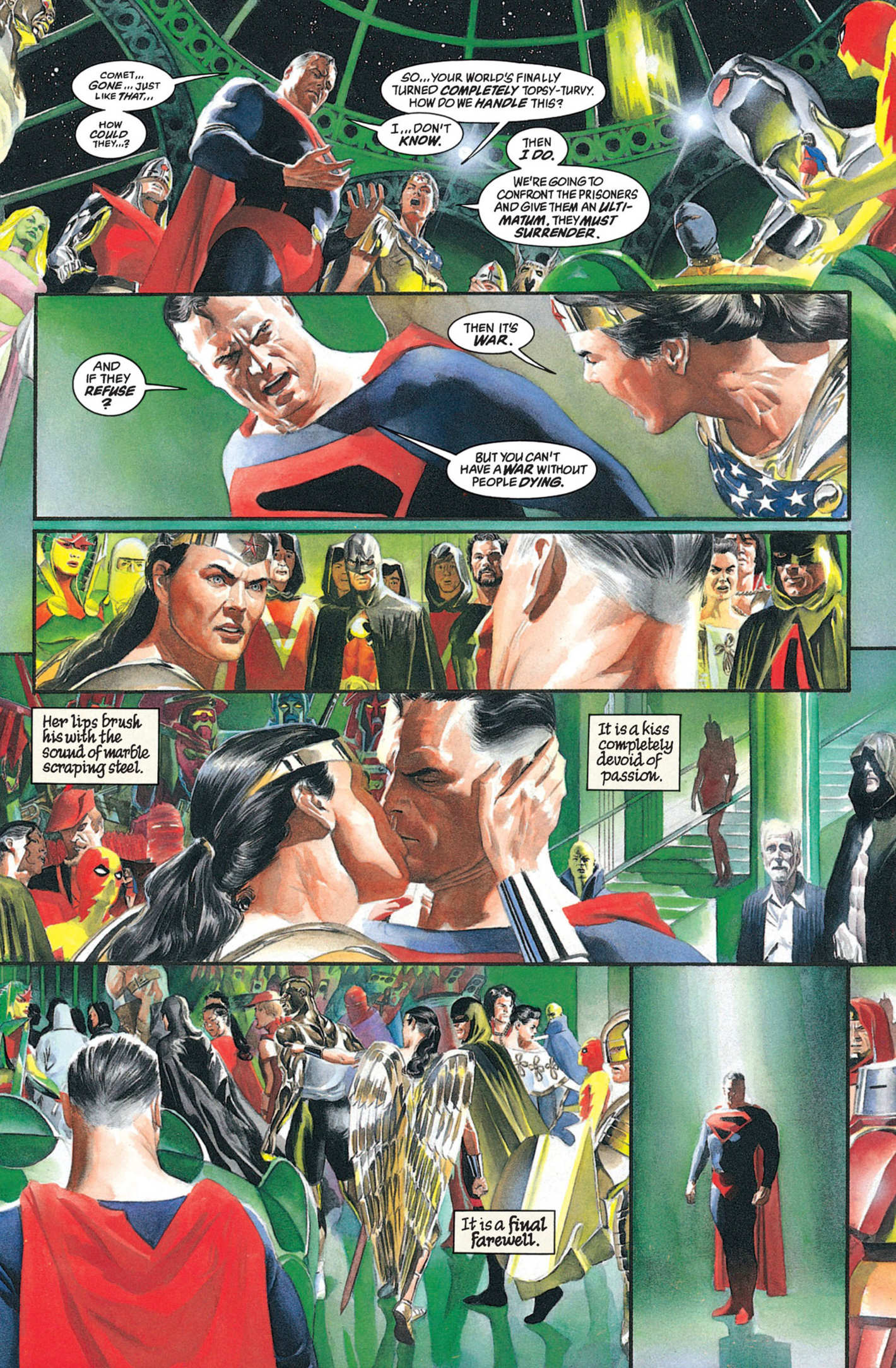 Kingdom Come Comic Book