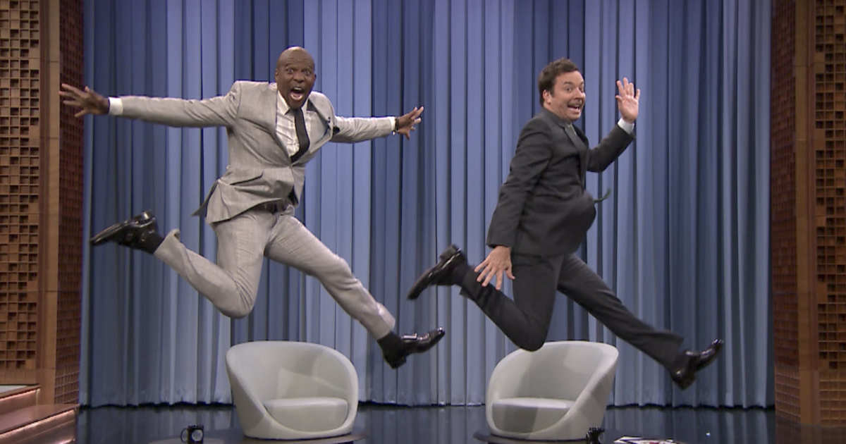 Terry Crews Invented A New Chair In His Spare Time