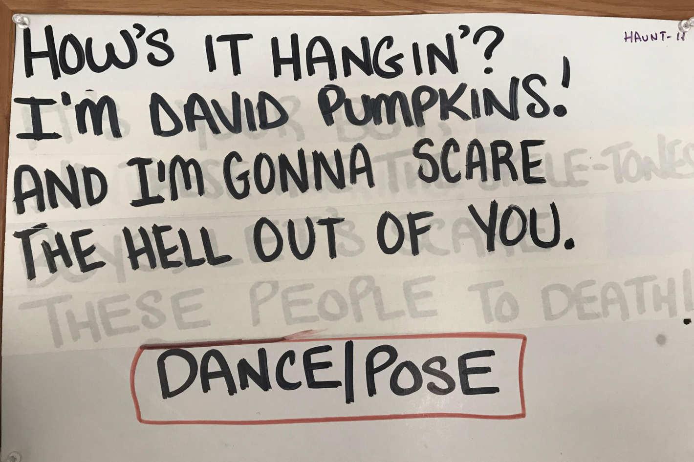 David S Pumpkins An Oral History