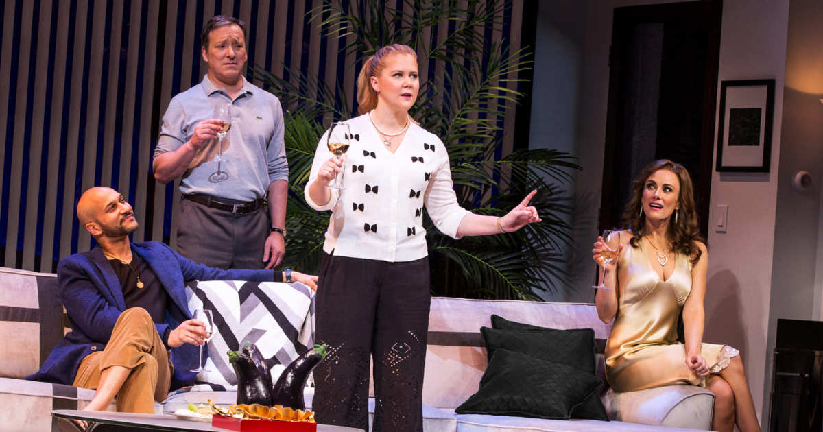 Theater: Amy Schumer in Steve Martin\'s \'Meteor Shower\'