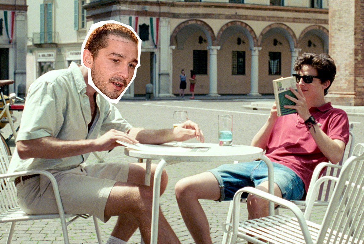 Shia LaBeouf in <em>Call Me by Your Name</em> and Other Stars Almost Cast in 2017 Movies