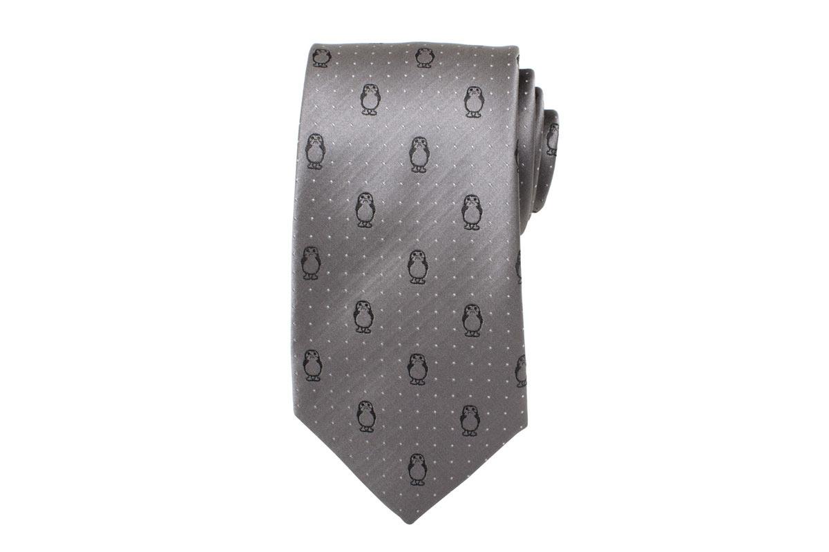 Porg Silk Tie