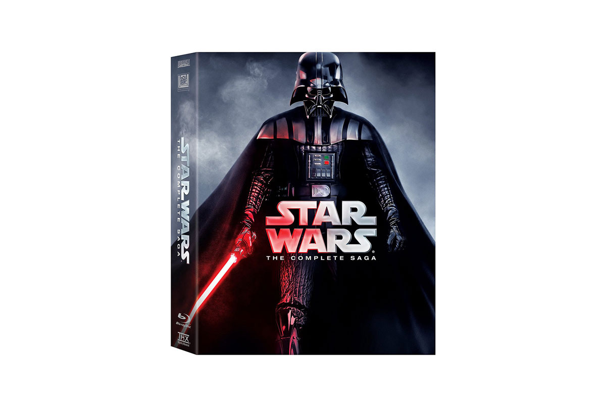 Star Wars - The Complete Saga on BluRay