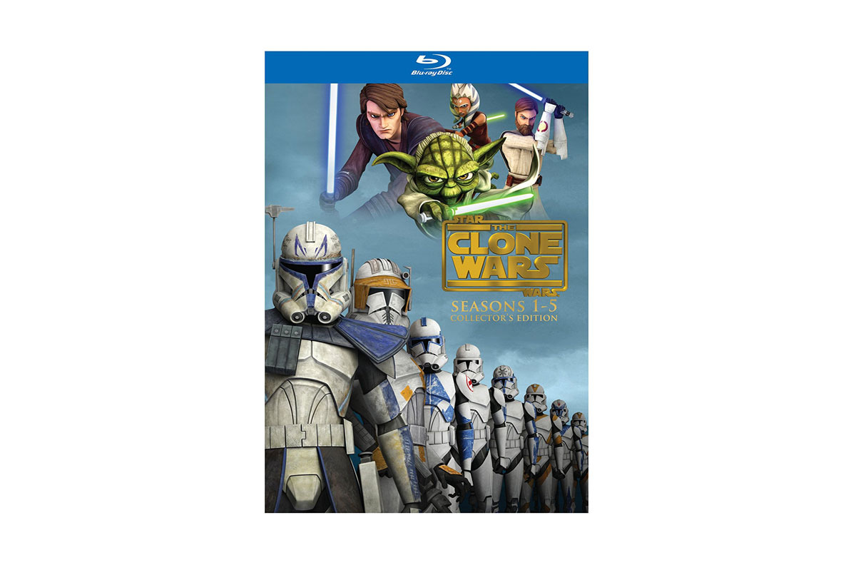 The Clone Wars - Seasons 1-5 Blu-Ray Set