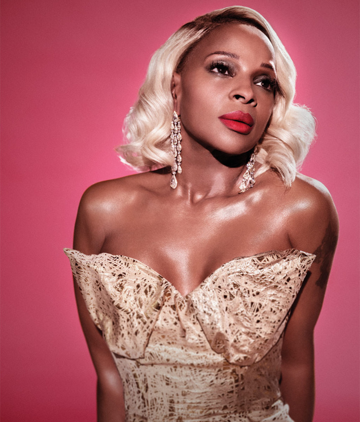 Mary J. Blige in <em>New York</em>