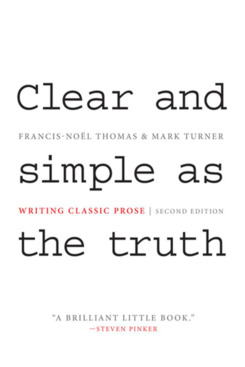 """""""Clear and Simple as the Truth,"""" by Francis-Noël Thomas and Mark Turner"""