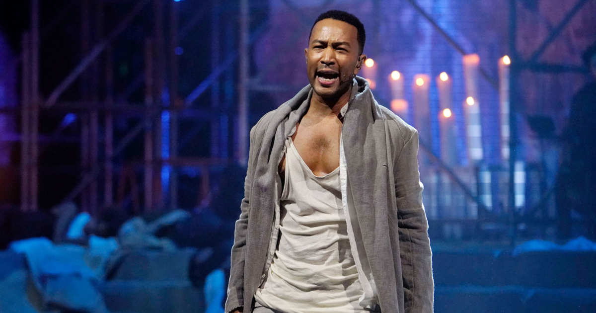 John Legend Pulls From Familiar Roots To Play Jesus In 'Jesus Christ  Superstar Live'