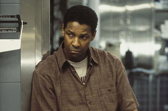 Denzel Washington in John Q.