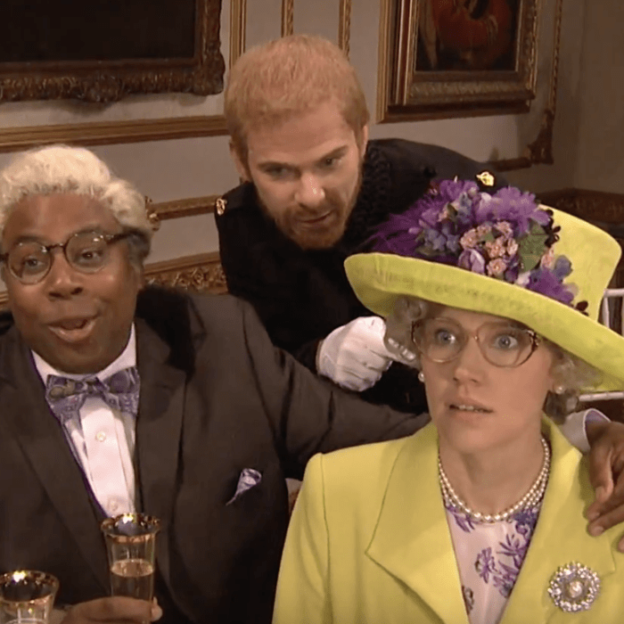SNL's royal wedding reception.