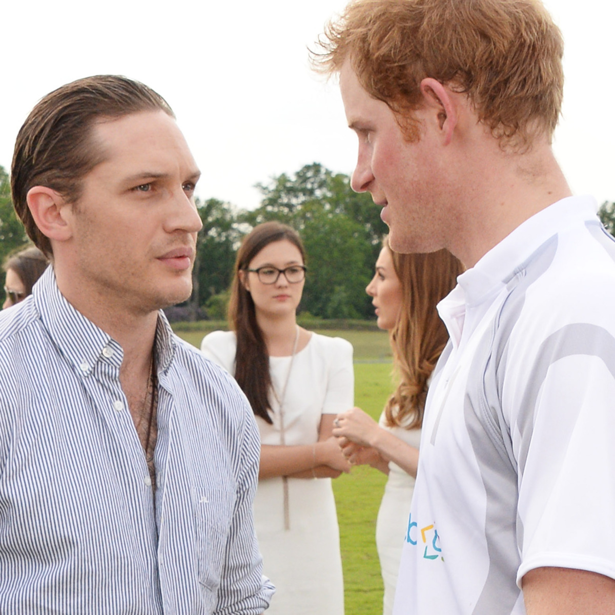 Tom Hardy and Prince Harry Have 'Deeply Private' Friendship