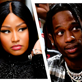 58d4565fdd6b We Were This Close to Watching Nicki Minaj Side-Eye Travis Scott All Night  at the VMAs
