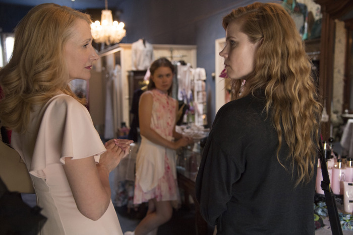 Patricia Clarkson, Eliza Scanlen, and Amy Adams in Sharp Objects.
