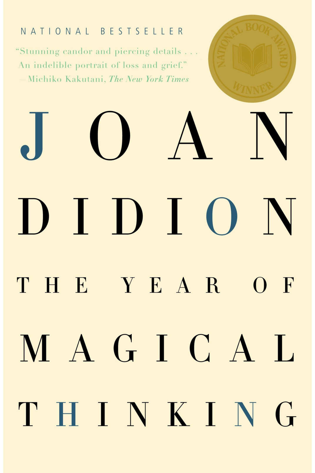 """The Year of Magical Thinking,"" by  Joan Didion"