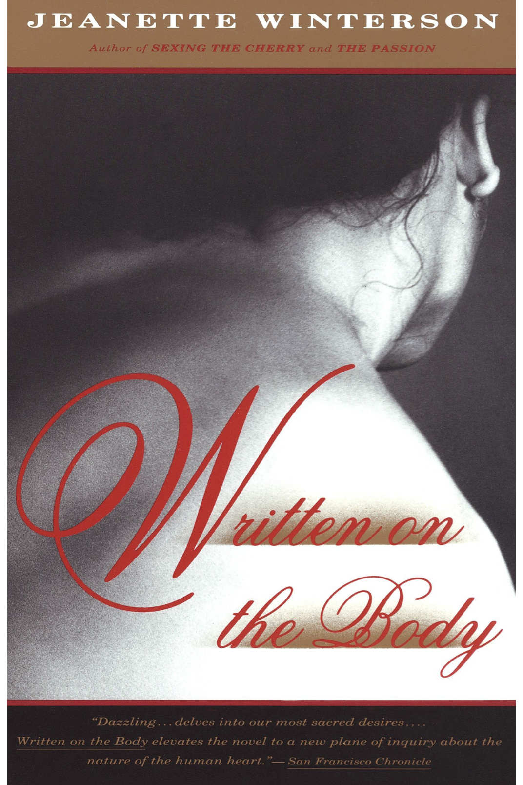 """Written on the Body,"" by Jeanette Winterson"