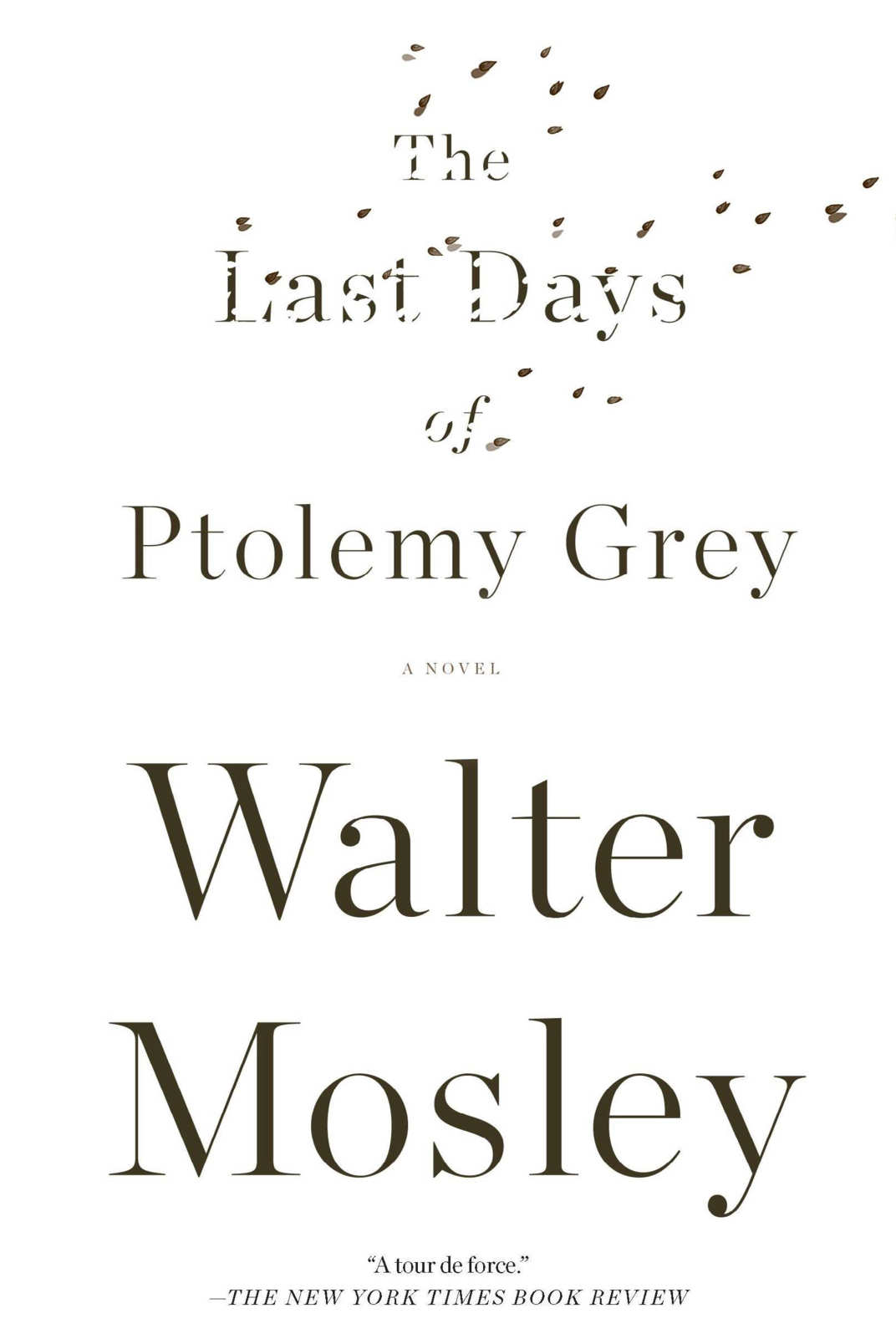 """""""The Last Days of Ptolemy Grey,"""" by Walter Mosley"""