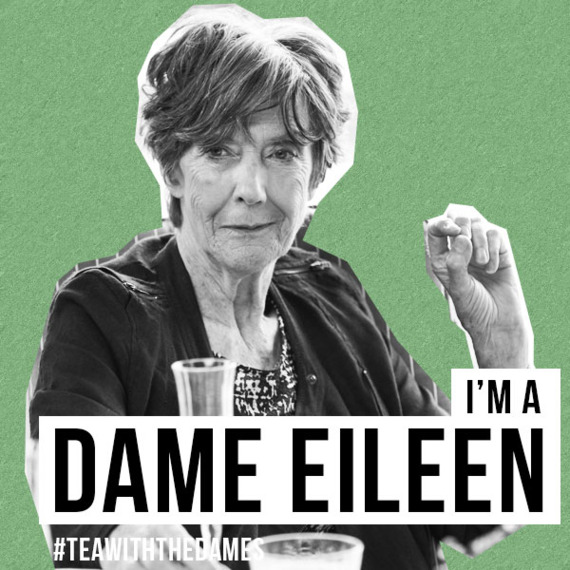 Eileen Atkins in Tea With The Dames