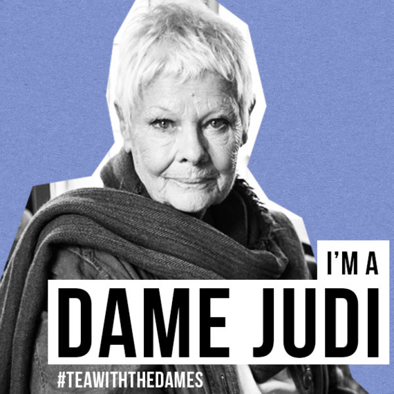 Judi Dench in Tea With The Dames
