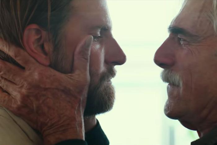 Sam Elliott, Bradley Cooper