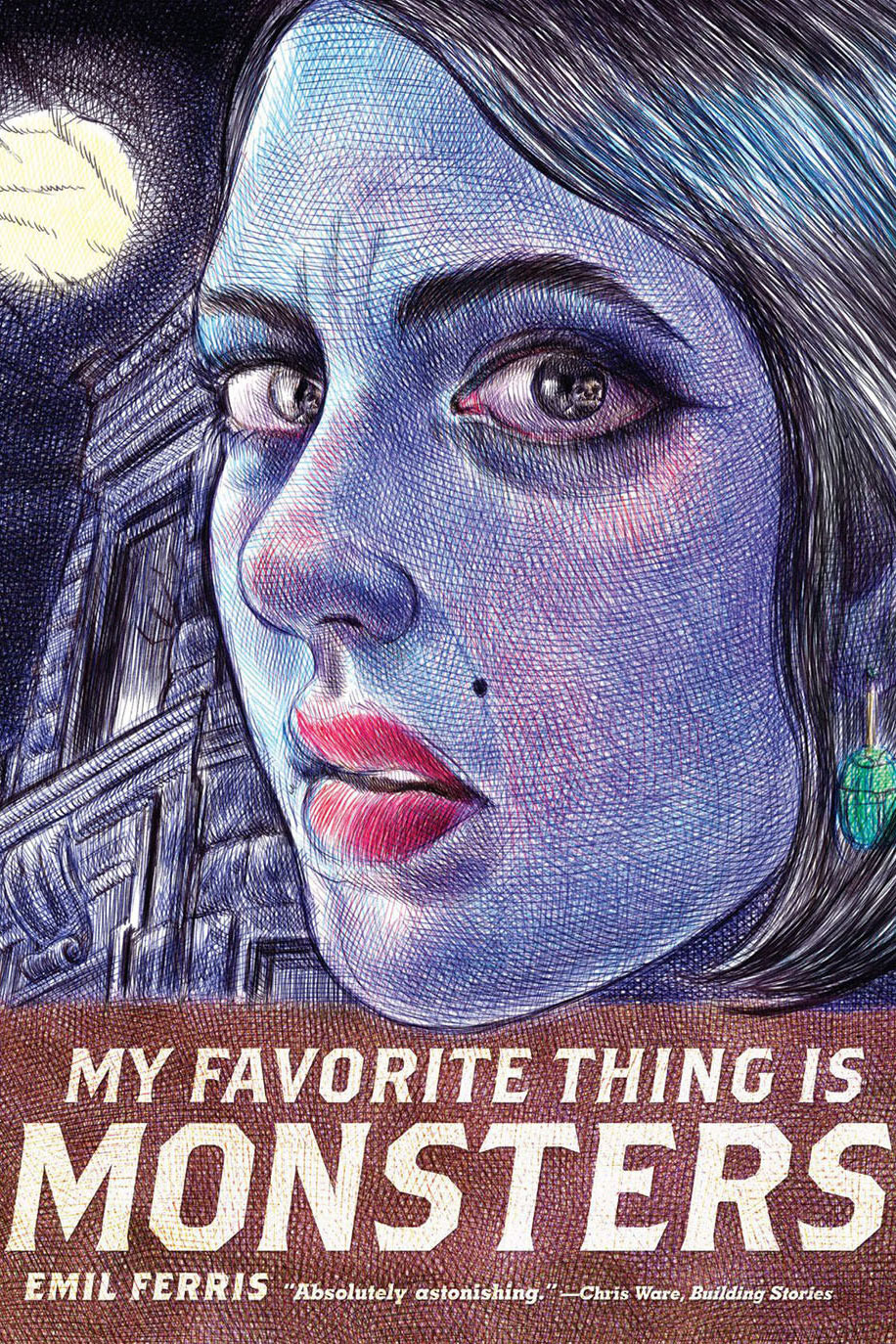 <em>My Favorite Thing Is Monsters</em> by Emil Ferris
