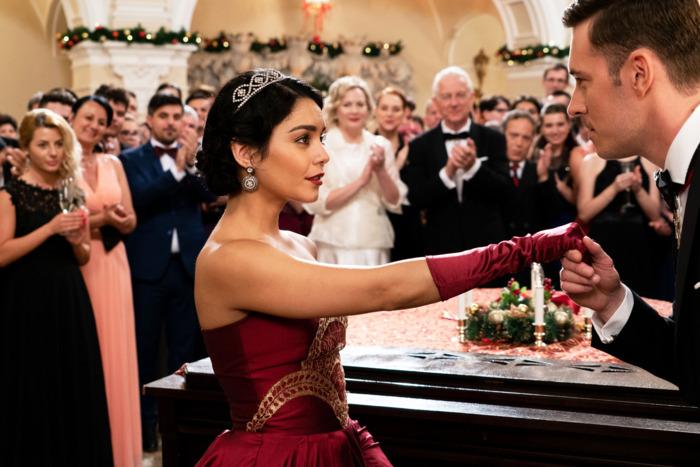 vanessa hudgens and sam palladio in the princess switch photo gabriel hennesseynetflix - Hallmark Christmas Movies On Netflix