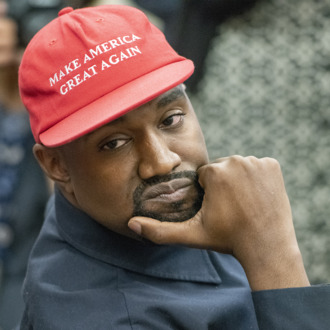 2299c3843063c Kanye Says He s Been Used So Now He s Leaving All That Political Stuff  Behind