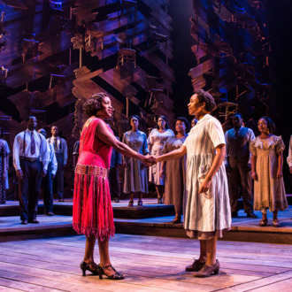 steven spielberg producing color purple musical as a movie