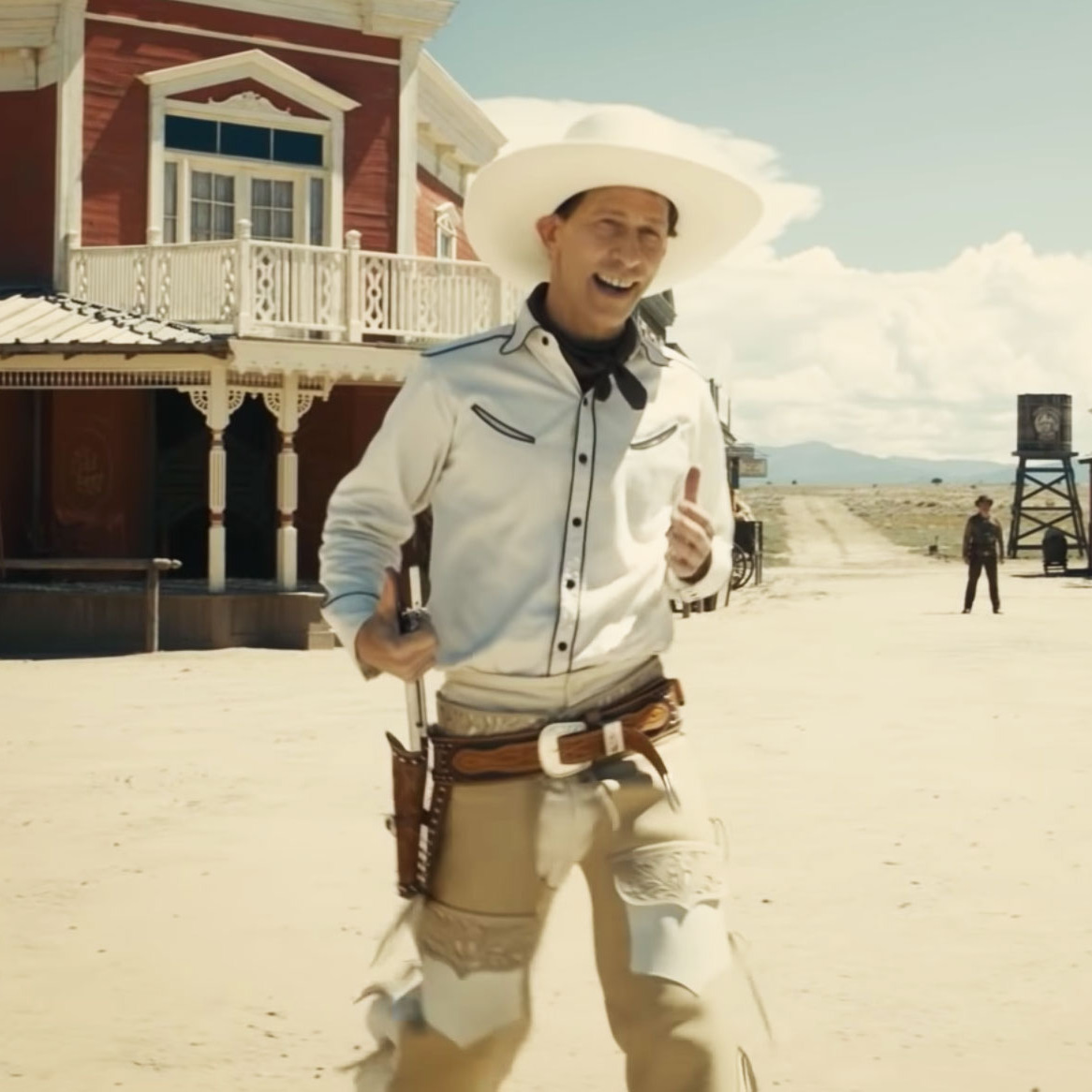 The Man Behind the Gunplay in Buster Scruggs and Westworld