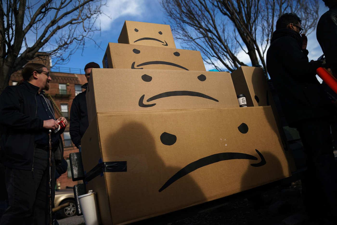 Hiba Ali Makes Art About Amazon's Worker Exploitation