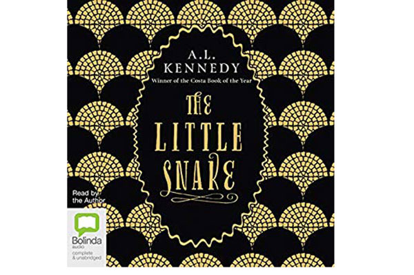 The Little Snake, by A.L. Kennedy, narrated by the author (Bolinda Publishing, Nov. 8), 2 hrs, 57 min.