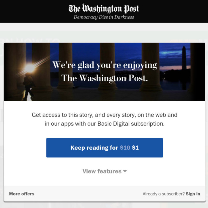 You Hit the Paywall, You Stupid F***ing Idiot