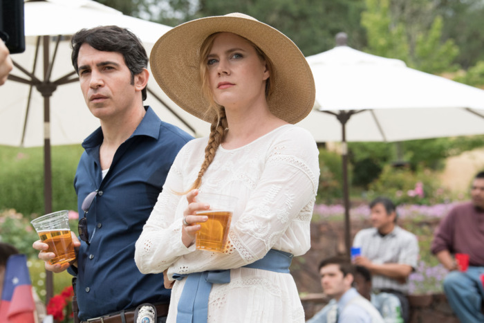 Chris Messina and Amy Adams in Sharp Objects.